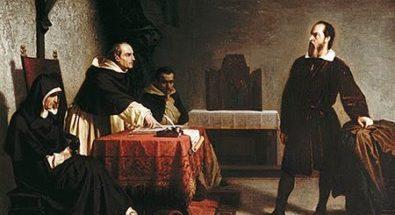 Galileo Galilei davanti al Tribunale dell'Inquisizione di Cristiano Banti