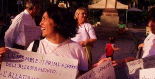 Manifestazione a Cagliari per la Settimana Mondiale dell'Allattamento Materno