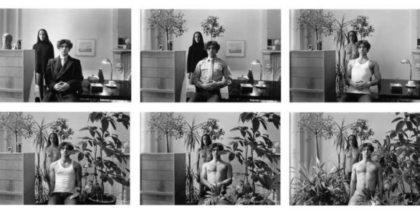 Una sequenza fotografica di Duane Michals