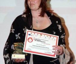 Premiazione di Elisa Di Benedetto