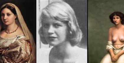 Raffigurazione di tre donne
