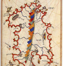 Mappa araba della Sardegna