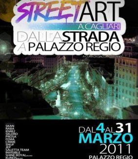 Street Art a Cagliari, dalla Strada a Palazzo Regio