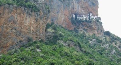 Il monastero di Elona in Grecia