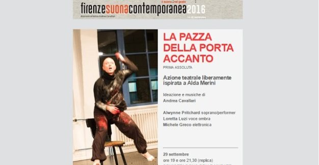 La pazza della porta accanto a Firenze suona contemporanea