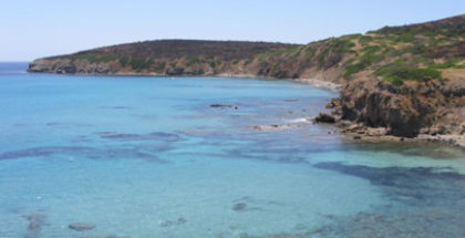 Spiaggia di Turri a Calasetta