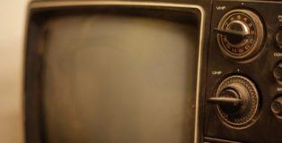 Una vecchia tv