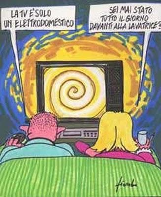 Vignetta sulla tv