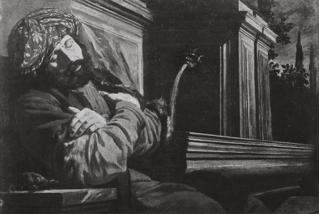 Allegoria del temperamento flemmatico