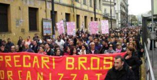 Disoccupati dell'ambiente di Napoli