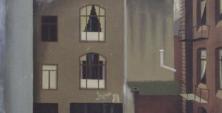 Hans Mertens, Cortile interno, 1925