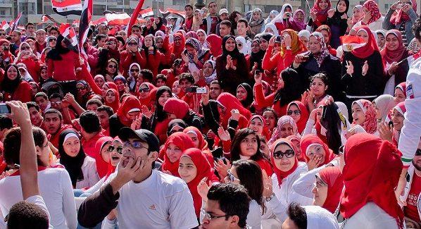 I giovani egiziani e la piramide sociale