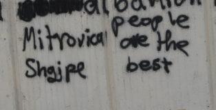 Scritta sul popolo albanese