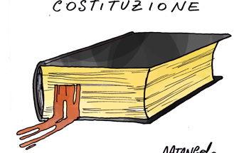 Vignetta di testo costituzionale