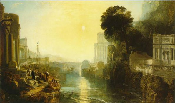 Didon faisant construire Carthage ou l'Ascension de l'Empire carthaginois