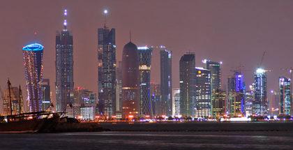 Doha di notte