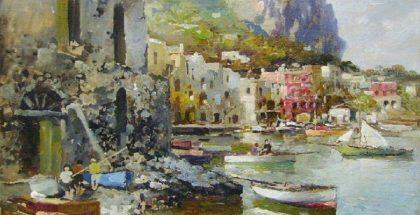 Felice Giordano, Capri, Marina Grande