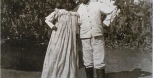 Foto di un matrimonio misto