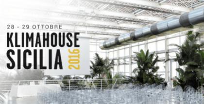 Klimahouse 2016 Sicilia