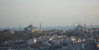 Le due signore di Istanbul, la Moschea Blu e Aghia Sophia
