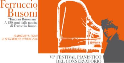 Locandina Festival Conservatorio