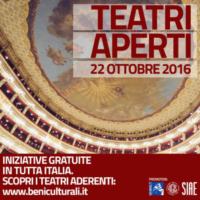 Teatri aperti: ingresso gratis in più di 100 teatri italiani