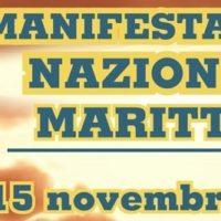 Roma,Manifestazione Nazionale Marittimi