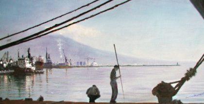 Napoli porto e pescatori