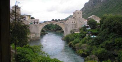 Sarajevo Bridge of Mostar