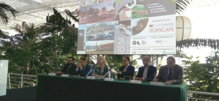 "A Radicepura (Giarre) summit internazionale ""Sicily Landscape in Motion"""