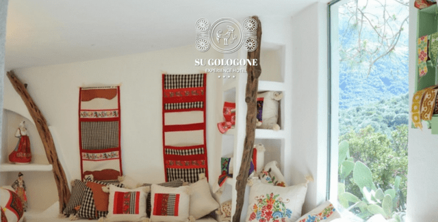 Presentata la linea Su Gologone Style® la collezione di cuscini, arazzi e ceramiche