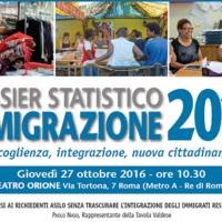 Roma, presentazione del Dossier Statistico Immigrazione 2016