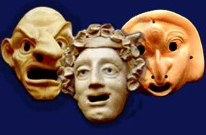 Maschere della commedia greca