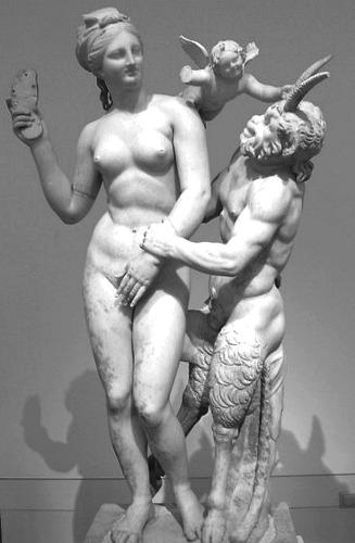 Pan, Afrodite ed Eros