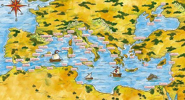 """Collezionare """"ricchezza"""": in viaggio nel Mediterraneo attraverso le """"facce"""" delle monete euro"""