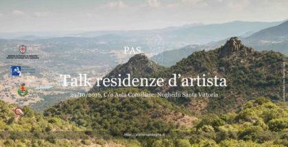 Talk residenze d'artista