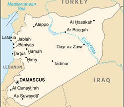 Siria mappa