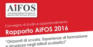Rapporto AIFOS 2016