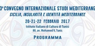 3° Convegno internazionale studi mediterranei: Sicilia, insularità e identità mediterranee