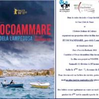 Projection du Film FUOCOAMMARE a Tunisi