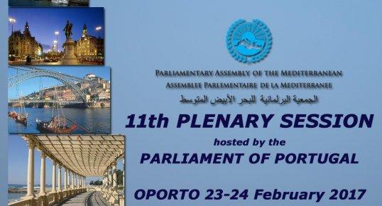 Si è tenuta a Porto l'11ª Assemblea Parlamentare dei paesi del Mediterraneo