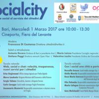 #socialcity: banda ultra larga e social al servizio dei cittadini