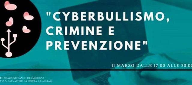 """A Cagliari l'importante conferenza: """"Cyberbullismo, Crimine e Prevenzione"""""""