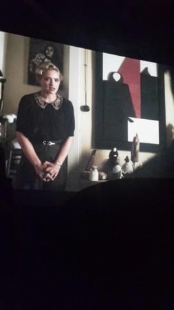 L'atelier di Alba, sullo sfondo le ceramiche delle sorelle Ariu