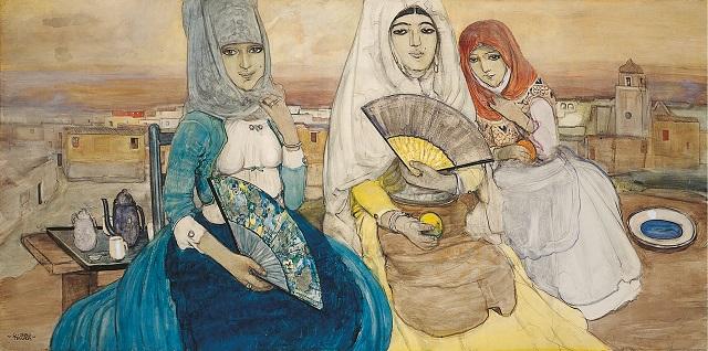 Castelsardo, in mostra le donne sarde della collezione De Montis