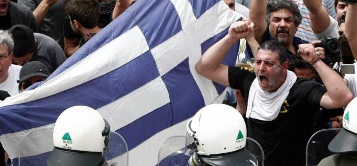 Ricordi di una Salonicco infuocata di proteste