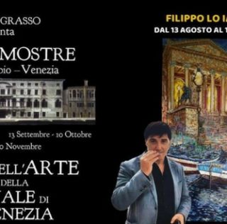 L'artista Filippo Lo Iacono alla Biennale di Venezia