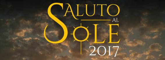 """Il 13 agosto l'evento musicale """"Saluto al sole"""""""