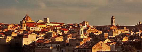 Sassari, parte del centro storico