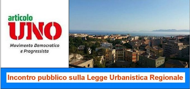 Sardegna, legge Urbanistica: se ne parla il 29 settembre a Oristano